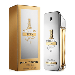 1 Million Lucky para hombre / 100 ml Eau De Toilette Spray