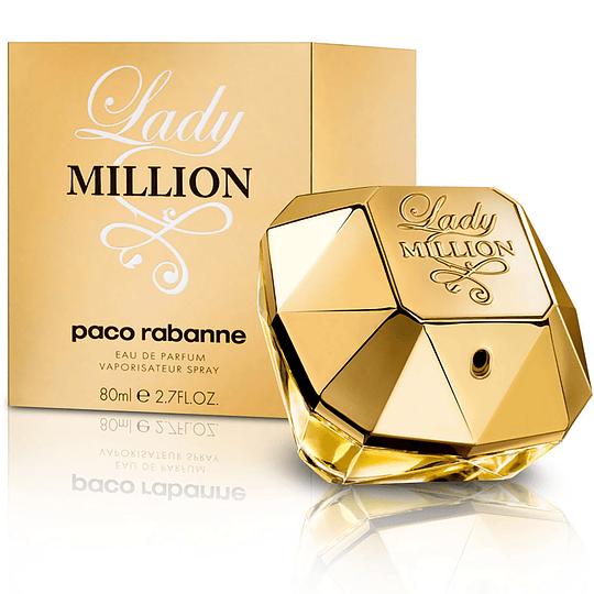Lady Million para mujer / 80 ml Eau De Parfum Spray