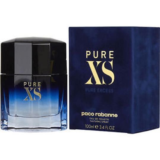 Pure XS para hombre / 100 ml Eau De Toilette Spray
