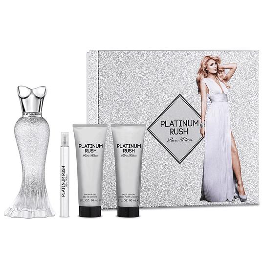 Platinum Rush para mujer / SET - 100 ml Eau De Parfum Spray