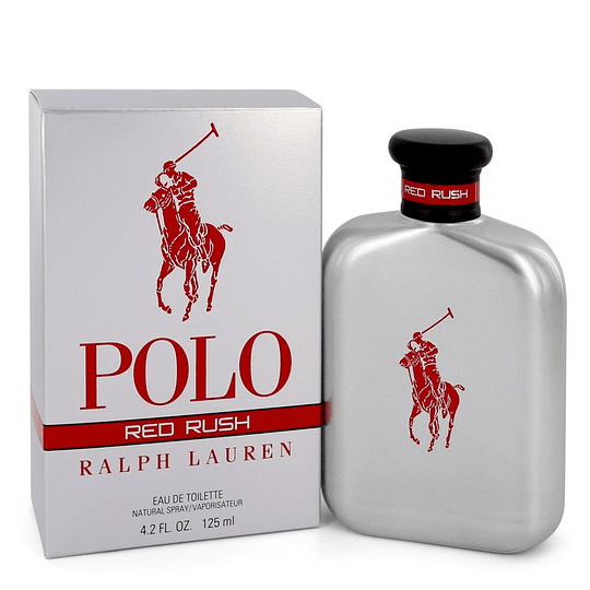 Polo Red Rush para hombre / 125 ml Eau De Toilette Spray