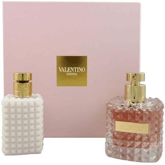 Valentino Donna para mujer / SET - 100 ml Eau De Parfum Spray