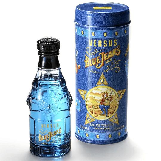(M) Versace Blue Jeans 75 ml EDT Spray