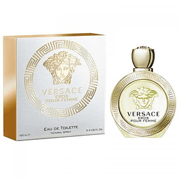 (W) Versace Eros 100 ml EDT Spray