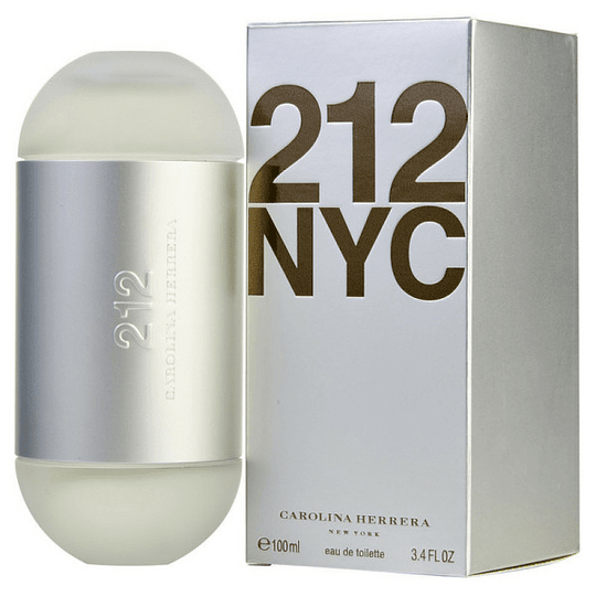 212 NYC para mujer / 100 ml Eau De Toilette Spray