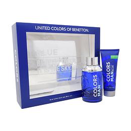 (M) ESTUCHE - Colors Blue Man 100 ml EDT Spray