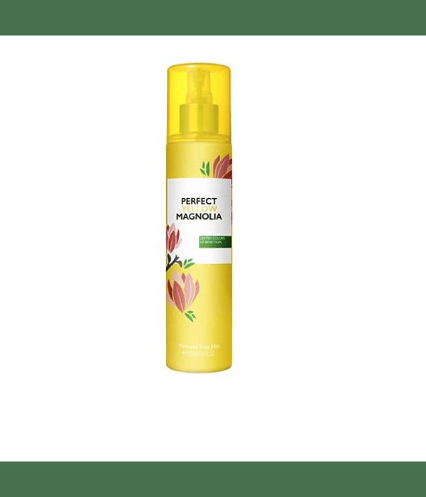Benetton Perfect Yellow  Magnolia Body Mist 236ml