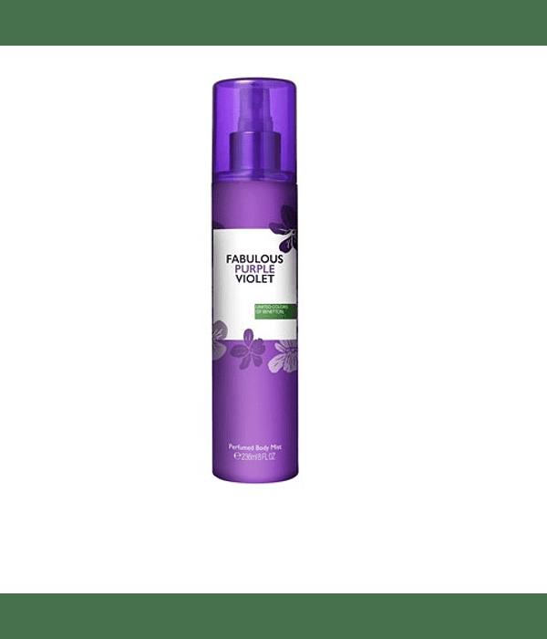 Benetton Fabulous Purple Violet  Body Mist 236ml