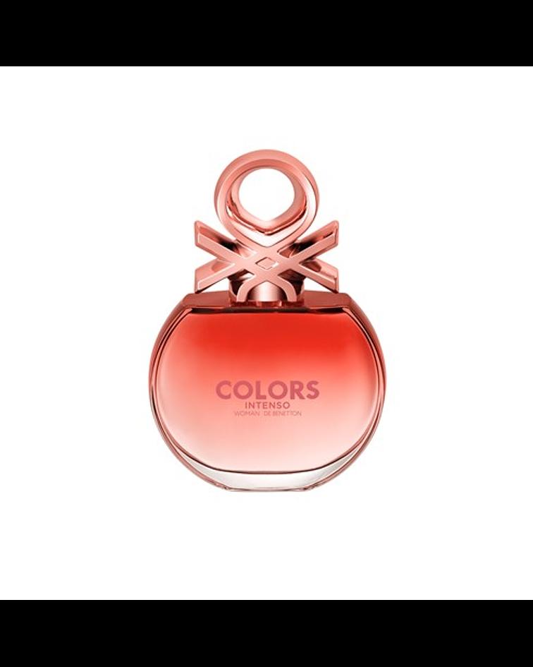 Benetton Colors Rose Intenso EDP 80ml