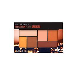 Sombra De Ojos City Mini Palette Hi-Rise Sunset Maybelline