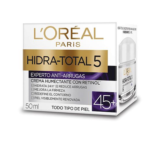 Crema Día Anti-Arrugas +45 Hidra-Total 5 50ml L'Oréal Paris