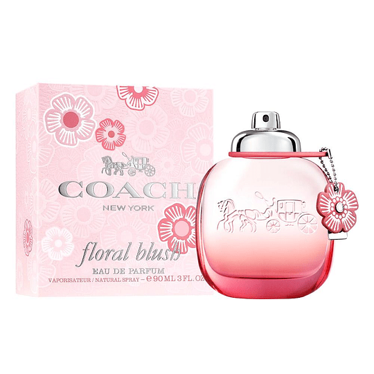 Coach New York Floral Blus Edp 90ml Mujer