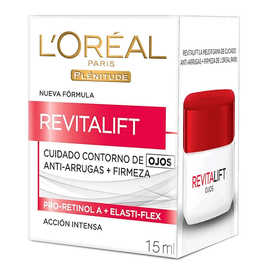 Contorno De Ojos Anti-Arrugas Revitalift 15 Ml L'Oréal Paris