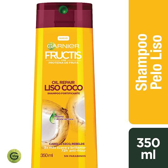 Fructis Oil R Sh Liso Coco 350 ml