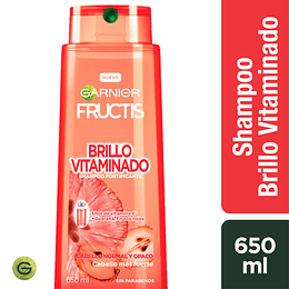 Fructis Brillo Vitamaminado Sh 650 ml
