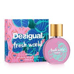 Desigual Fresh World Edt Mujer 100Ml