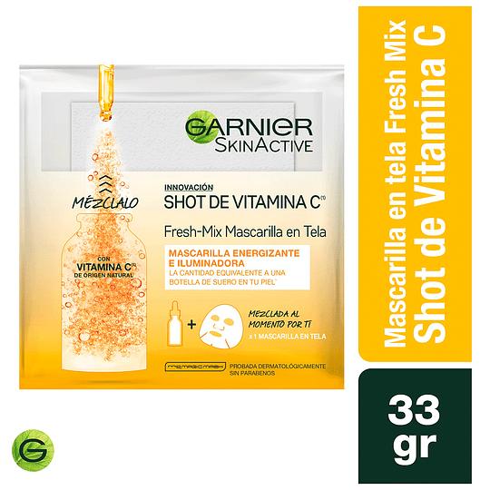 Mascarilla En Tela Para Rostro VitaminaC