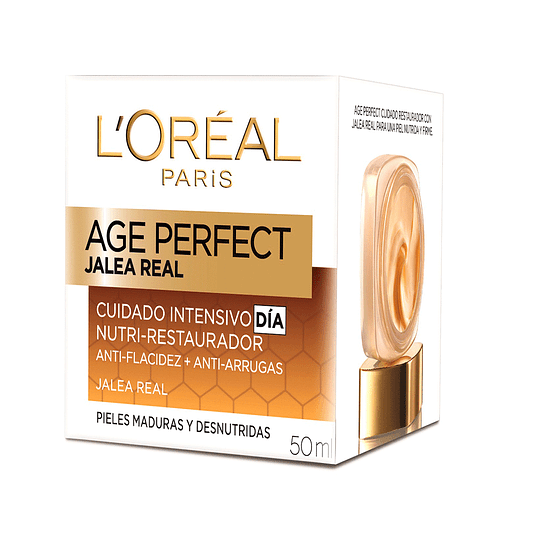 Crema Día Anti-Arrugas Age Perfect Jalea Real 50ml