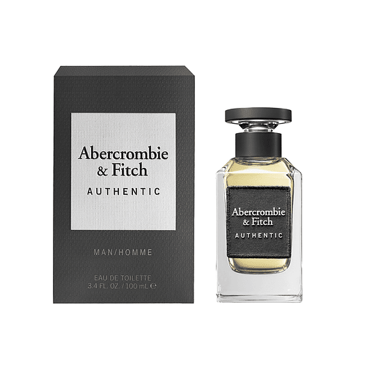 Abercrombie & Fitch Authentic Edt 100ml Hombre