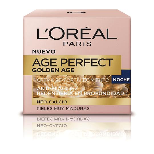 Crema Noche Anti-Arrugas Age Perfect Golden Age 50ml