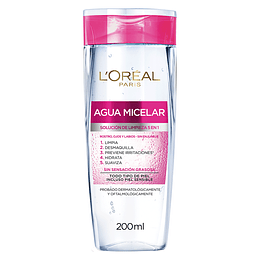 Agua Micelar 5 En 1 Hidra-Total 5 200 Ml L'Oréal Paris