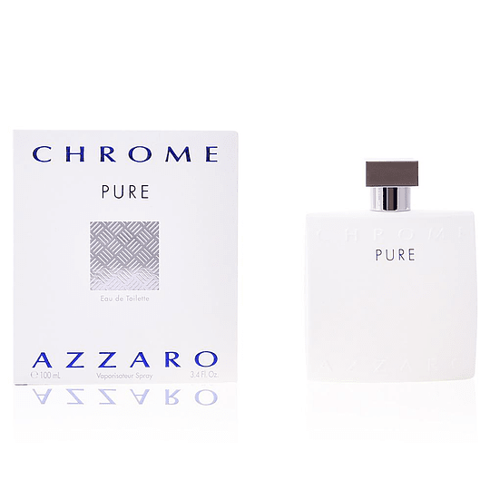 Azzaro Chrome Pure Edt 100ml Hombre