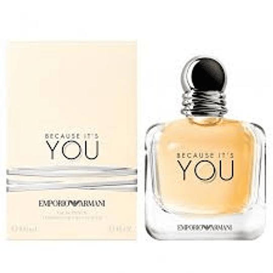 Perfume Original Because It's You Mujer 100 Ml Edp Armani