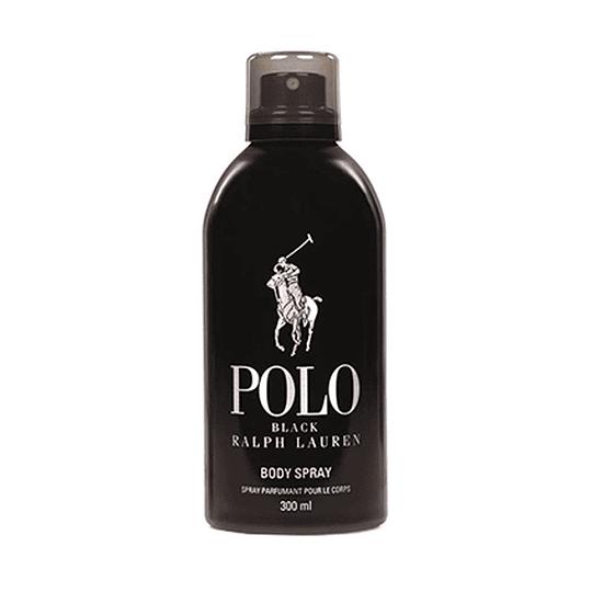 Polo Black Body Spray Hombre 300ml