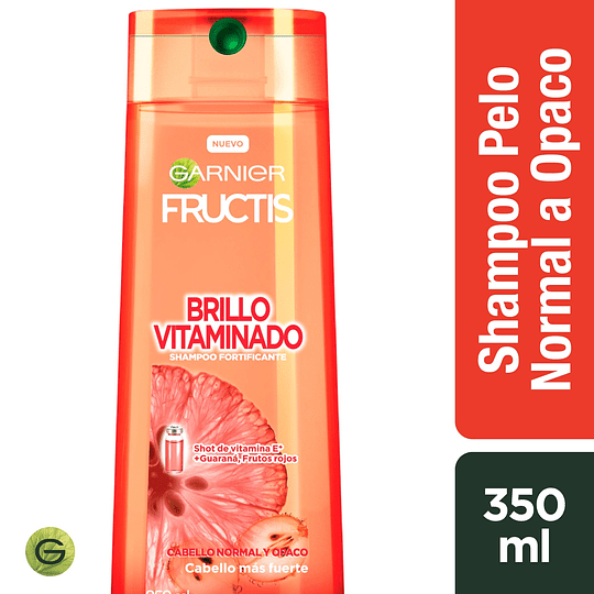 Fructis Sh Brillo Vitaminado 350 ml