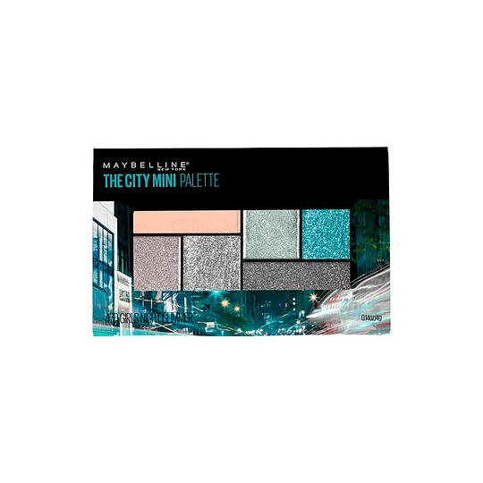 Sombra De Ojos City Mini Palettes Grls Nght Glim Maybelline