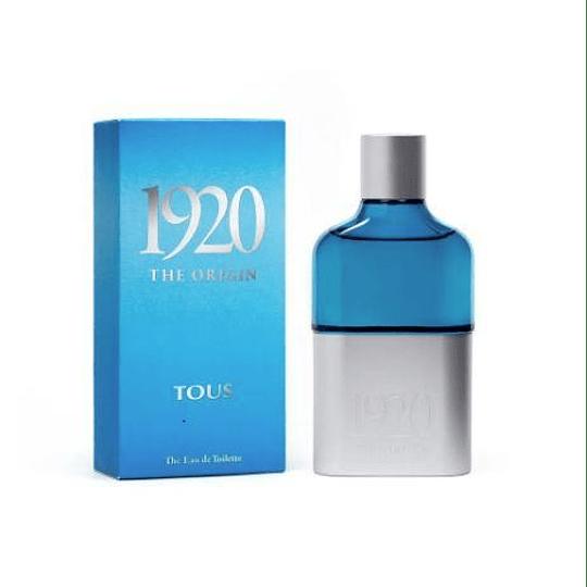 Tous 1920 The Origin Edt 100Ml Hombre (AZUL)