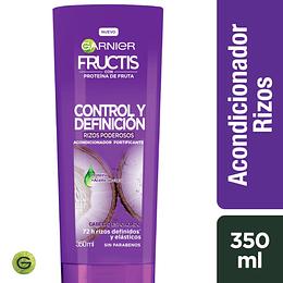 Fructis Rizos Ctrl Y Def Aco 350 ml