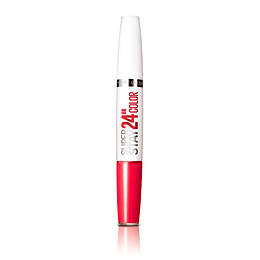 Labial Larga Duración Superstay Super Impact 553Steady Red-Y