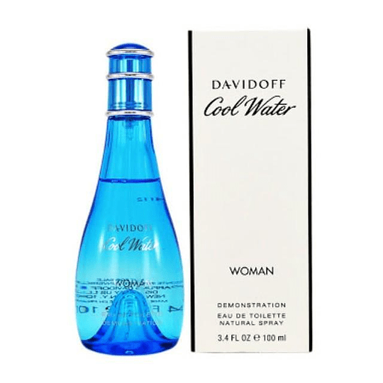 Cool Water Davidoff Edt 100 Ml Mujer Tester