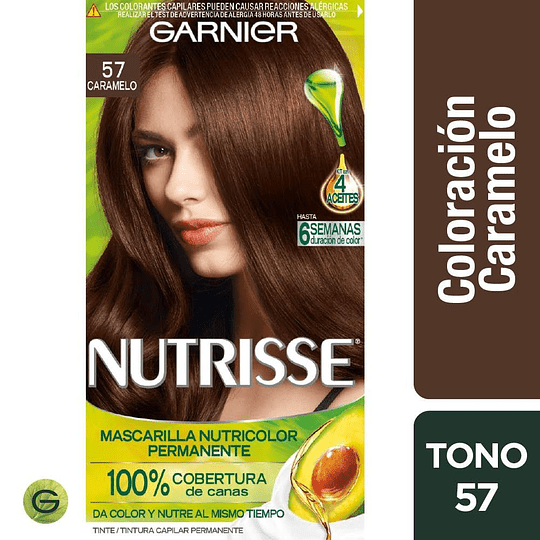 Nutrisse 57 Caramelo 3 Aceites