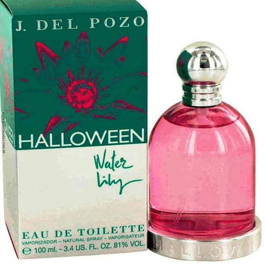 Halloween Water Lily 100ML EDT Mujer Jesus Del Pozo