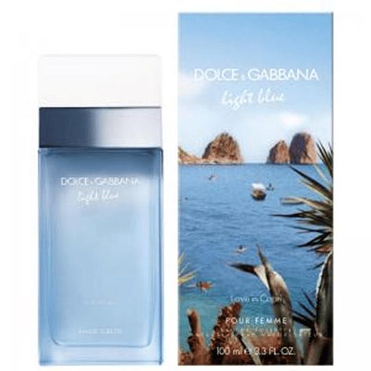 Light Blue Love In Capri  100ML EDT Mujer Dolce & Gabbana