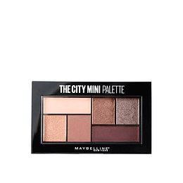 Sombras The City Mini Palettes 410 Chill Brunch Neutrals
