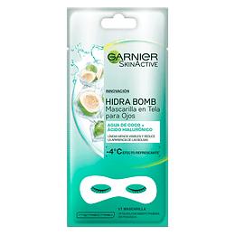 Mascarilla En Tela Para Ojos Coconut Garnier Skin Active