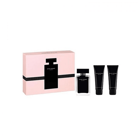 Narciso Rodriguez for Her Set 50ml+75SG+75BL Edt Mujer