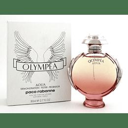 Olympea Aqua P. Rabanne Tester Edp Legere 80ml Mujer