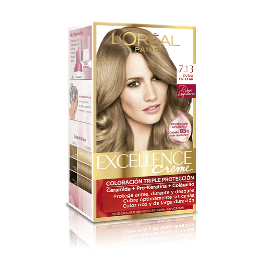 Excellence Blond Le grends Tono 7.13 Permanente