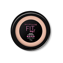 Polvo Fit Me Soft Natural Maybelline