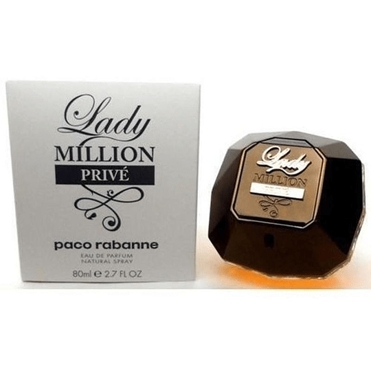 Lady Million Prive Tester 80ML EDP Mujer Paco Rabanne