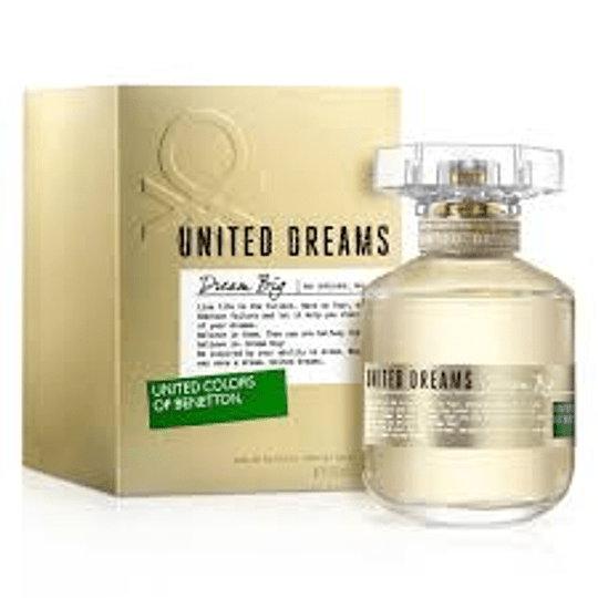 United Dream Big EDT Mujer  80ML