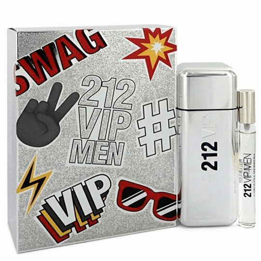 Estuche 212 Vip Men Swag Edt 100 Ml +10 Ml Mini Hombre