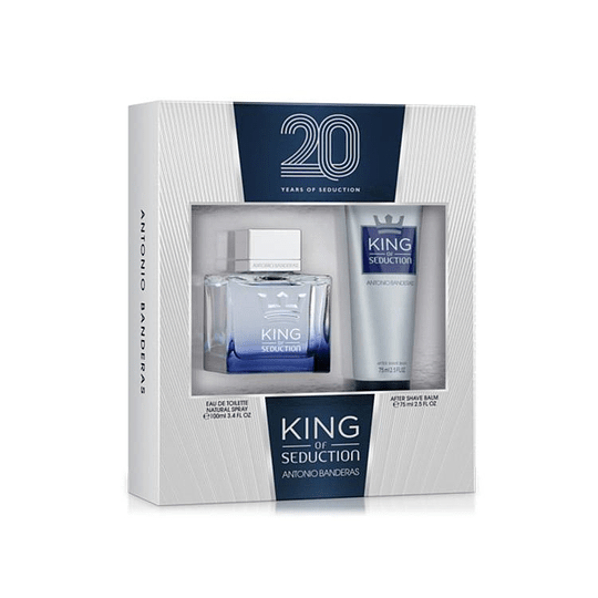 ESTUCHE (KING OF SEDUCTION 100ML+ AFTER SHAVE 75 ml 20 YEARS