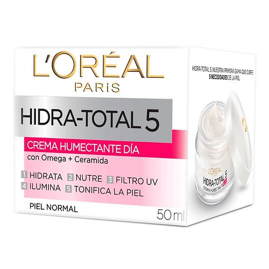 Crema De Día Hidratante Hidra-Total 5 50 Ml L'Oréal Paris