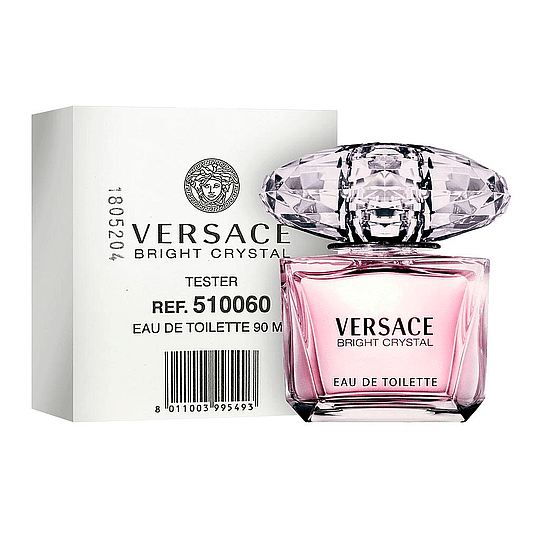 BRIGHT CRYSTAL VERSACE EDT TESTER 90ML MUJER