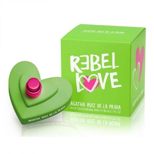Rebel Love Mujer 80ML EDT Agatha Ruiz